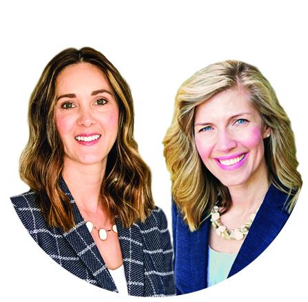 Lori Sinor and Cara Mengali
